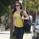 Kristen Steweart Leaves the Gym in Venice, CA July 18, 2012