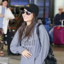 Victoria Justice – Arriving at LAX Airport in Los Angeles
