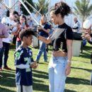 Rihanna attends the DIRECTV Super Fan Tailgate at Pendergast Family Farm on February 1, 2015 in Glendale, Arizona