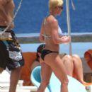 Jaime Pressly In Bikini In Cabo San Lucas