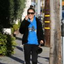 Cara Santana – Out and about in Beverly Hills - 454 x 681