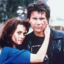 Winona Ryder and Christian Slater in Heathers (1989)