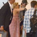 Kate Hudson at Airport in Sydney