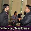 "Emraan Hashmi on the sets of ""Bade achhe lagte hain"" 2011"