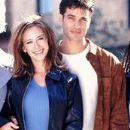 Jennifer Love Hewitt and Johnathon Schaech