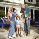 Tori Spelling and her family attending at various events through the years - 425 x 425