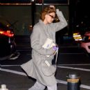 Gigi Hadid – Returns home in New York