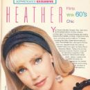 Heather Locklear - Sophisticate's Hairstyle Guide Magazine Pictorial [United States] (June 1991) - 454 x 639
