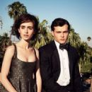 Lily Collins and Alden Ehrenreich