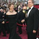 Annette Bening and Warren Beatty At The 77th Annual Academy Awards (2005)