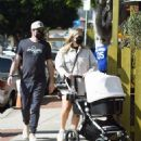 Stassi Schroeder – With Beau Clark out with their newborn daughter in Los Angeles