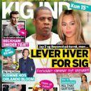 Beyoncé Knowles, Jay-Z - Kig Ind Magazine Cover [Denmark] (9 July 2014)