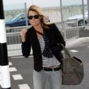 Kate Moss Arriving At Heathrow For A Flight To Los Angeles - Mar 29 2008