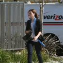 Mandy Moore Gets A Parking Ticket In Venice, California, 2008-11-04