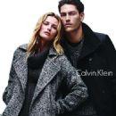 Edita Vilkeviciute & Tyson Ballou for Calvin Klein White Label Fall/Winter 2014 ad campaign - 454 x 617