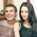 Adrian Mutu and Consuelo Matos