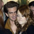 Andrew Garfield and Emma Stone were spotted in Moscow, January 23