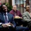 Joshua Hardaway (Derek Luke, left) and Chuck (RonReaco Lee) in TYLER PERRY'S MADEA GOES TO JAIL. Photo credit: Alfeo Dixon. - 454 x 304