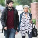 Christina Aguilera And Her Husband Jordan Bratman Acted Like A Pair Of Newlyweds As They Stopped By A Potential School For Their Son Max In Los Angeles, CA On December 21, 2009 - 454 x 695