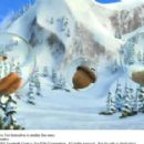 Scratte (voiced by Karen Disher) and Scrat (voiced by Chris Wedge) find themselves in another fine mess. Photo credit: Blue Sky Studios. ICE AGE 3 TM and © 2009 Twentieth Century Fox Film Corporation. All rights reserved. - 454 x 286