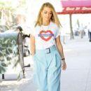 Rita Ora at her Hotel in London - 454 x 681