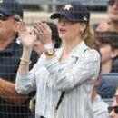 Kate Upton at Yankees vs Astros game in Bronx