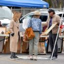 Lucy Hale – Shopping at a Local Flea Market in Los Angeles - 454 x 404