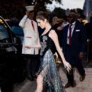 Anna Kendrick – Leaving hotel Plaza Athenee in Paris