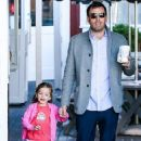 Ben Affleck spent Friday (March 1) afternoon with her adorable daughter Seraphina