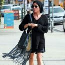 Selma Blair stopping by the Forage restaurant for some quick lunch in Hollywood, CA March 17 2011