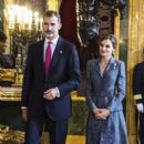 Spanish Royals attend the 2017 National Day military parade - 400 x 600