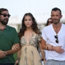 Making a splash! Barbara Palvin oozes class as she soaks up the sun during 73rd Venice Film Festival