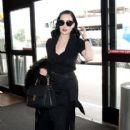 Dita Von Teese to departs LAX