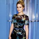 Dianna Agron attends the Carolina Herrera fashion show