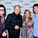 Joely Fisher, Glenn Hughes & Matt Sorum attend IFAW Saving the Elephants of Amboseli at Hotel Palomar on February 17, 2015 in Los Angeles, California.