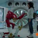 Zoe Robins as Hayley Roster in Power Rangers Ninja Steel