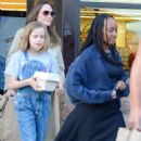 Angelina Jolie Shopping With Daughters In Los Angeles  (September 04, 2019) - 454 x 604