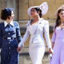 Priyanka Chopra and  Abigail Spencer :  Prince Harry Marries Ms. Meghan Markle - Windsor Castle - 454 x 303