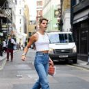 Pixie Geldof is spotted donning a casual look out in Soho - 454 x 681