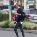 Charlize Theron Goes To Yoga Class In West Hollywood