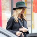 Rosie Huntington-Whiteley was seen holding her pregnant belly while shopping at ABC Carpet & Home store in New York City, New York on April 6, 2017 - 454 x 577