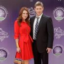 Danneel Harris - Breeders' Cup World Thoroughbred Championships In LA, 07.11.2009.