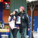 Blac Chyna and Tyga Attend Kendall Jenner's 18th Birthday Bash at Magic Mountain in Valencia, California - October 29, 2013 - 454 x 623