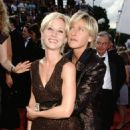 Anne Heche and Ellen DeGeneres At The 49th Annual Primetime Emmy Awards (1997)