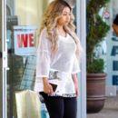Blac Chyna and Rob Kardashian Out in Calabasas, California - April 21, 2016 - 398 x 600