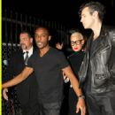 Amber Rose and Nick Simmons at Playhouse Nightclub in Hollywood, California - October 2, 2014 - 454 x 679