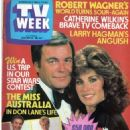 Robert Wagner - TV Week Magazine Cover [Australia] (23 October 1982)