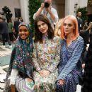 Alexandra Daddario – Tory Burch Show 2020 – New York Fashion Week - 454 x 681