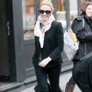 Kylie Minogue - out for a stroll in London - Feb 15 2011