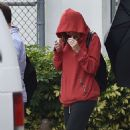 Taylor Swift – Arrives ahead of filming a new music video in Miami